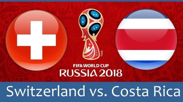 match suisse, costa Rica